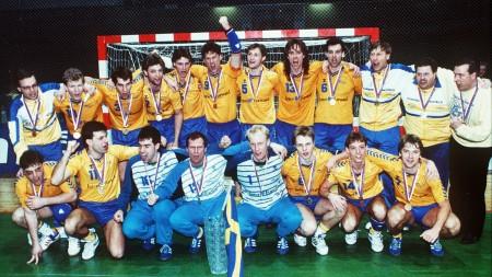 16.00: Se dokumentären om VM-guldet 1990