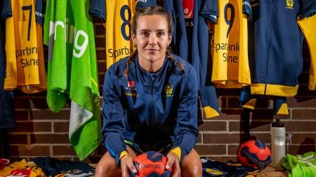 Färdigspelat i landslaget för Sabina Jacobsen