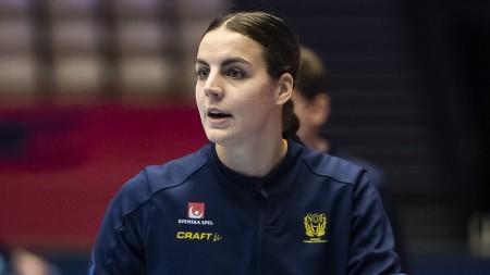 Carin Strömberg spelar 100:e landskampen