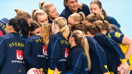 Svenska damerna VM-kvalar mot Ukraina i Lund