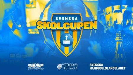 SESF och Svenska Handbollslandslaget AB lanserar Svenska Skolcupen i e-sport