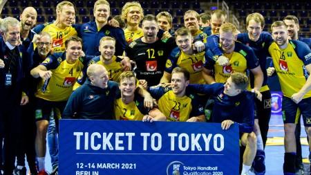 Sverige OS-klart efter fullträff