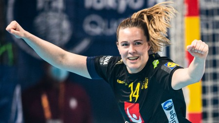 Handbollsskola: Skjuta över täck med Johanna Westberg