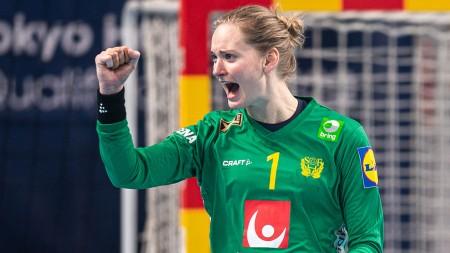 Handbollsskola: Målvaktsspel med Johanna Bundsen