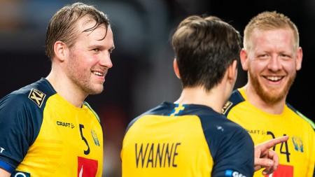 Sverige mot regerande mästaren i EM