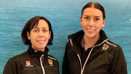 Tio U17-damer i första mästerskapstruppen