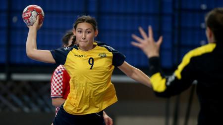 Spelmässiga framsteg trots förlust mot Kroatien