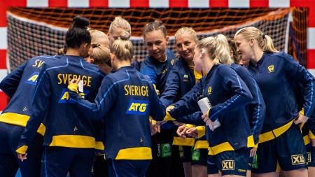Sverige mot Montenegro i VM-förberedelserna